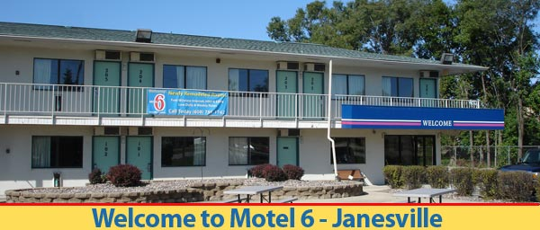 Welcome to Motel 6 Janesville Wisconsin